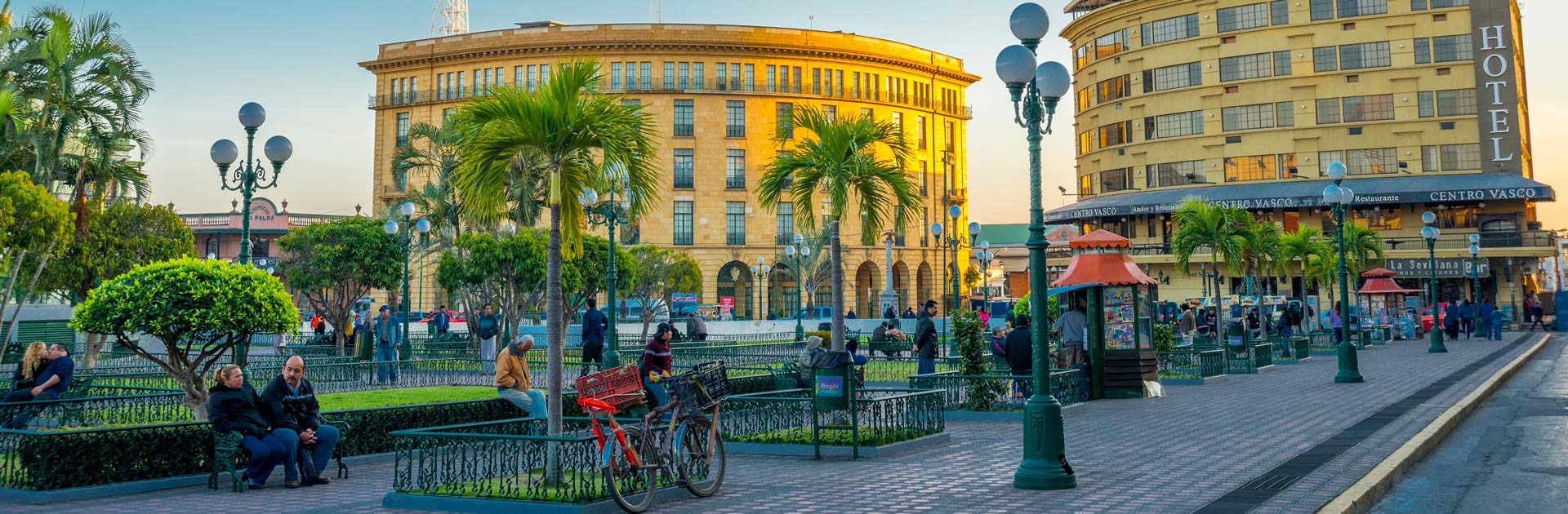Vista del Centro Histórico de Tampico